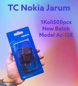 Travel Charger Nokia mata kecil original