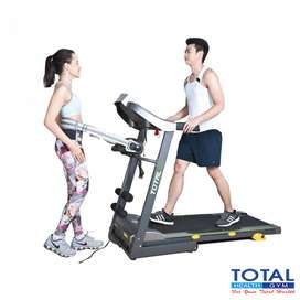 Treadmill elektrik TL288 Total ready stock COD jogja