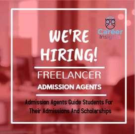 Admission Agents Freelancer
