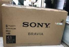 Lowest Price Sony Sale 24,32,40,43,50 with 2 year warranty starts 7500