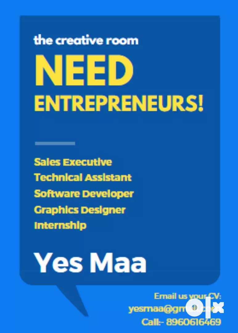 Need Entrepreneurs for Java Development, Graphic Designer, Marketing 0
