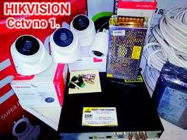 Paket CCTV Kamera Hikvision turbo HD