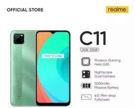 Realme C11 2021 RAM 2GB ROM 32GB, Garansi Resmi 100% Original