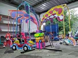komedi putar safari odong pasar malam kereta mainan fiber 111