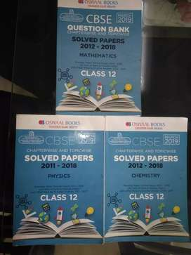 CBSE 12 solved papers from oswal