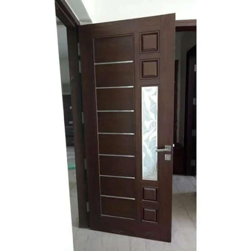 Daun pintu kamar kayu jati