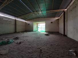 full covered industrial godown availabe for rent , mini factory plant