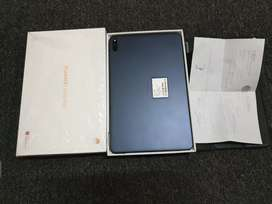 Huawei MatePad Ram4/64Gb Garansi SEP2021 LIKE NEW Full ori +Case.