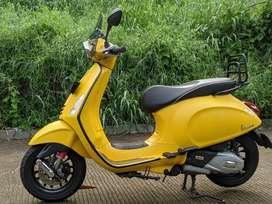 Vespa Sprint 150 iget 2017 Yellow Matte