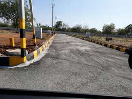 Plots for sale beside Srisailam Highway