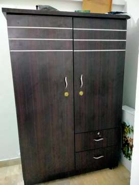 Cupboard two door with drawer