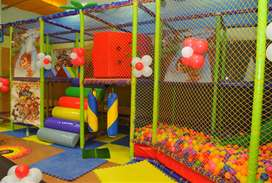 Soft play area for Kids which around 460 sqft.