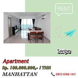 Disewakan Condominium The Manhattan JL Gatot Subroto