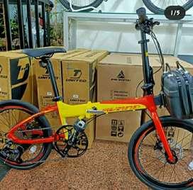 "Sepeda Avand Lanchester 20""  10 Sp Hydraulic - Free Ongkir + ( BARU )"