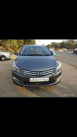 Verna 1.6 CRDI S 2nd Owner and the car is in mint condition