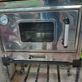 Oven gas dan mixer roti