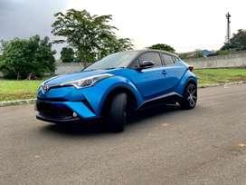 Toyota CHR 1.8 dual tone 2018 AT blue metallic