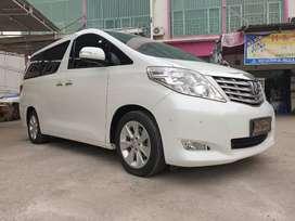 Toyota Alphard G Premium Sound A/T thn 2010 pemakaian 2011