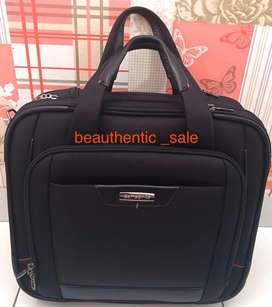 Koper Travel Samsonite warna hitam AUTHENTIC BARU