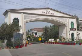 5 Marla Plot on 5 Year Installment - SA Garden - Kala Shah Kaku Lahore