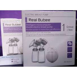 pompa Asi elektrik Double breast pump REAL BUBBE Electric Real Bubee