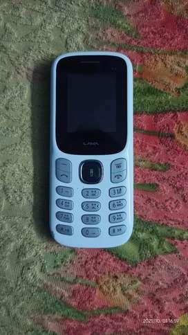 Brand new lava a3 keypad phone