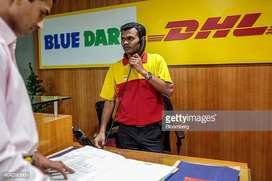 office Assistant, Office Executive cum CCE job in Bluedart