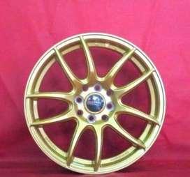 velg hsr wheel ring 15 inc pcd 4x100-114 bisa utk di avanza,sigra,city