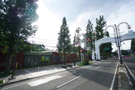 Disewakan tanah di Jl. Ir. Haji Djuanda Bandung