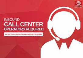 Job available for  call center outbound and Inbound
