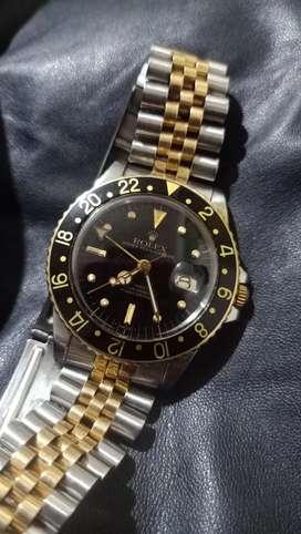 jam tangan rolex gmt master 16750 automatic