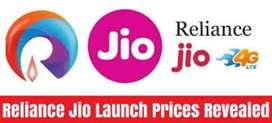 Urgent Hiringin Jio Reliance company