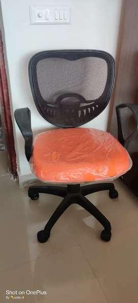 Office chair push back mechanism