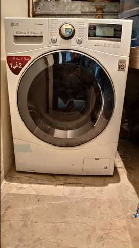Front Load 12KG LG Automatic Washing Machine with Tumble Dry