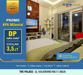 DP 0% Utk Dumai,Miliki Apartemen diKawasan Kampus&Wisata,The Palace