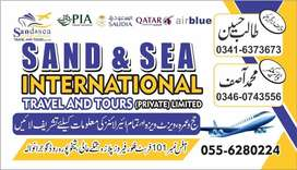 Sand &sea international Travel & tours , Book your ticket with us