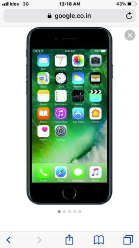 Iphone 7 balck 128 gb for sale