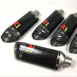 Its Brand new Akrapovic carbon fiber imported