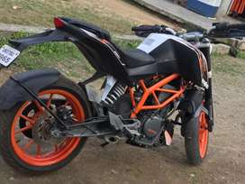 First owner ktm 390 abs not having single problem or scratch