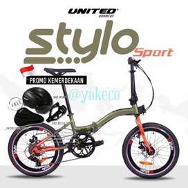 United Stylo Sport 20 Shimano Tourney DiskBrake