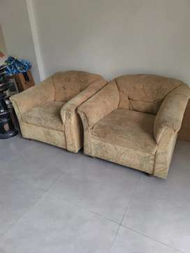 2single Seater sofa for urgent sale