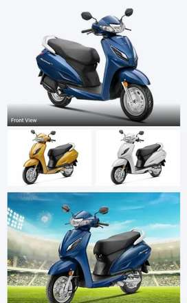Just pay 12000 down payment Honda  activa 6g STD