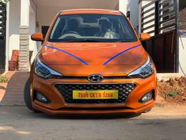 New i20 available for self drive not for sale