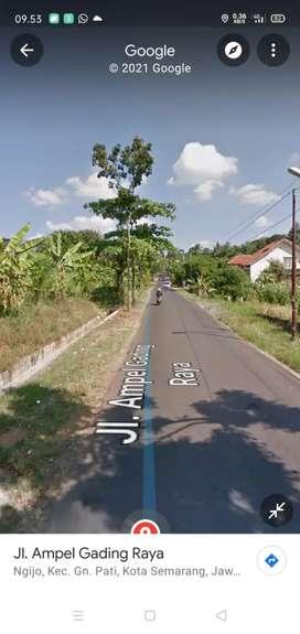 Tanah Siap Bngun Zona Kuning Jalan Ampel Gading Raya Ngijo Gunung Pati