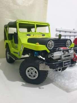 RC Basic WPL D16 Jeep Willys edisi ga jadi Pake full Upgrade 6Ch