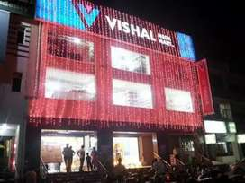 Apply male and female candidates for the shopping mall