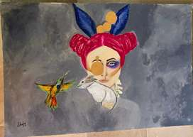All type of oil paintings available at good prices