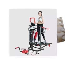 Treadmill Manual 6 in 1 TL 004 ( Total Health Gym )