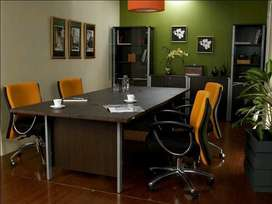 Meja meeting/rapat/kantor/tulis kk besi. 240x120cm. T75cm. Bahan tebal