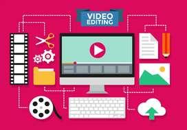 Video editor, graphics design,